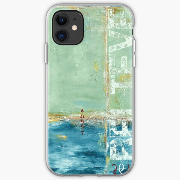 Coastal Abstraction iPhone Soft Case