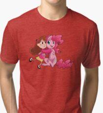 Cheek squishes Tri-blend T-Shirt