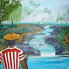 What a Wonderful day for Fishing by towncrier