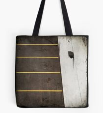 Parking Lot From Above Tote Bag