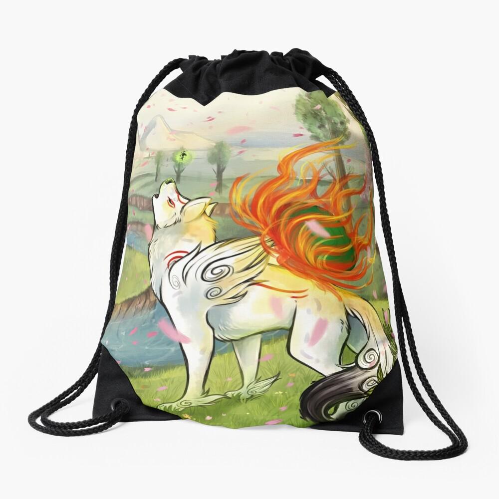 Okami Drawstring Bag