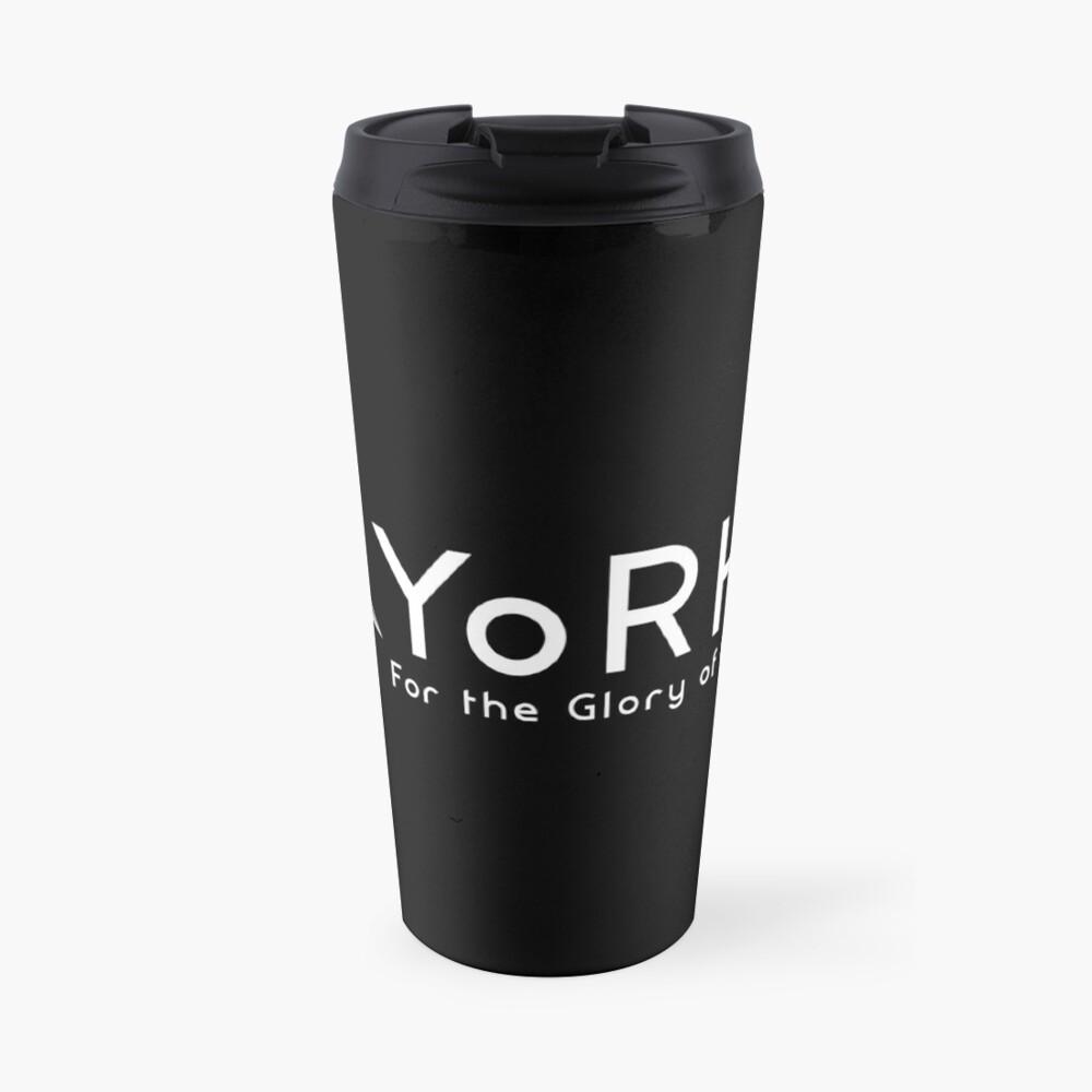 YoRHa - White Travel Mug