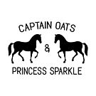 «Capitán Avena y Princesa Sparkle» de Hilaarya