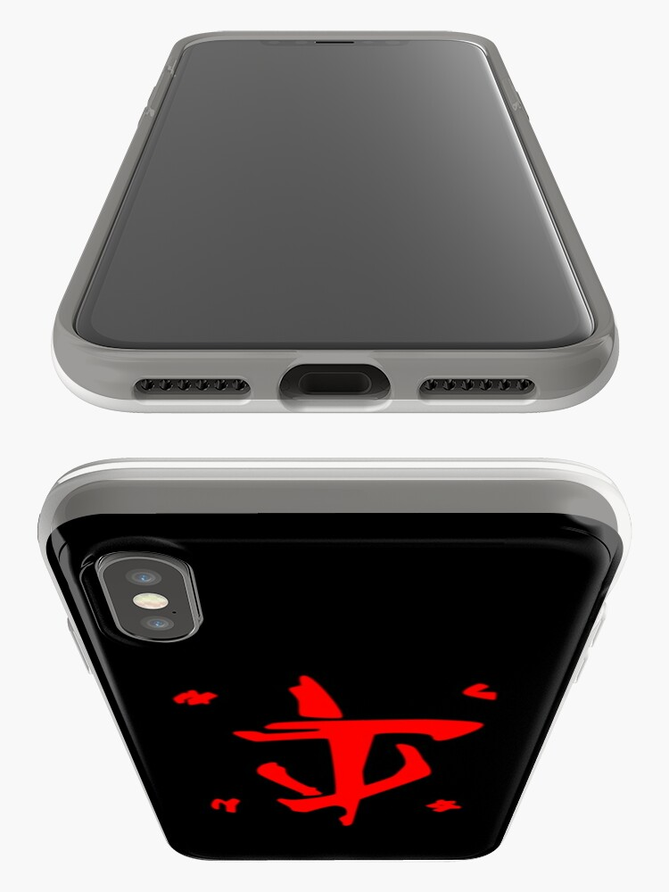 Alternate view of Mark of the Doom Slayer - Red iPhone Case & Cover