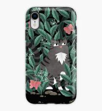 Schmetterlingsgarten (Tabby Cat Version) iPhone-Hülle & Cover