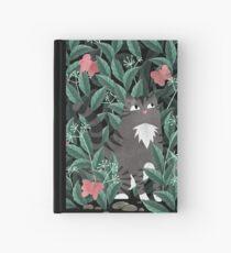 Butterfly Garden (Tabby Cat Version) Hardcover Journal