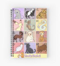 Fruits Basket Zodiac Spiral Notebook