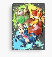 The Mage, the Warrior and the Theif Canvas Print