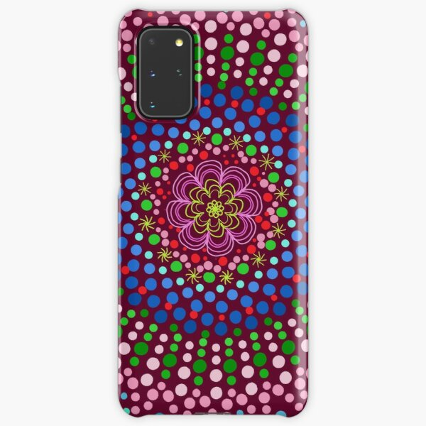 Delicious Singing Petals Mandala Samsung Galaxy Snap Case