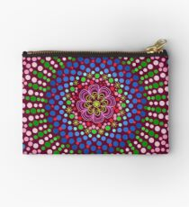 Delicious Singing Petals Mandala Zipper Pouch