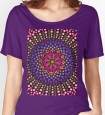 Delicious Singing Petals Mandala Relaxed Fit T-Shirt