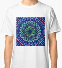 Undersea Whirpool Mandala Classic T-Shirt