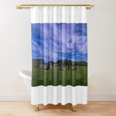 castlerigg stone circle Shower Curtain