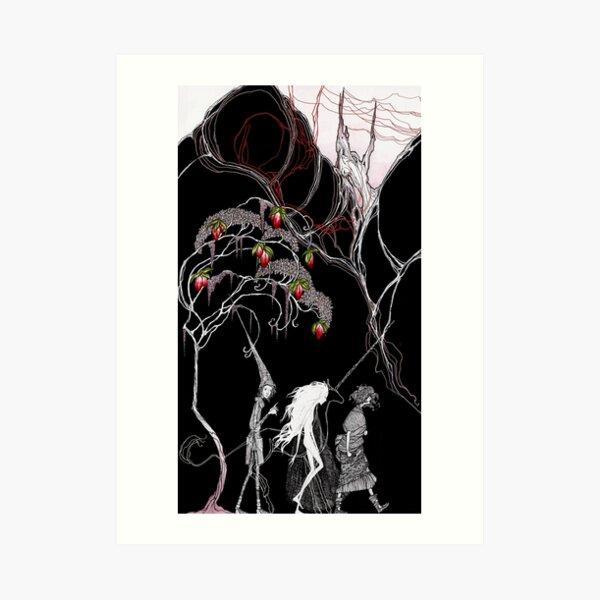 unicorn and bull Art Print