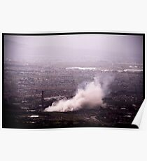Implosion of Athlone Towers Poster
