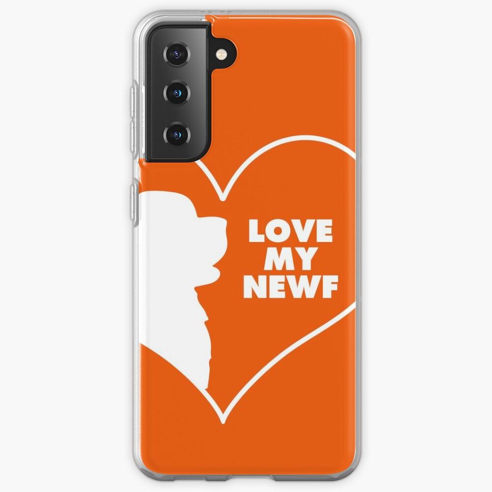I Love my Newfie Case & Skin for Samsung Galaxy