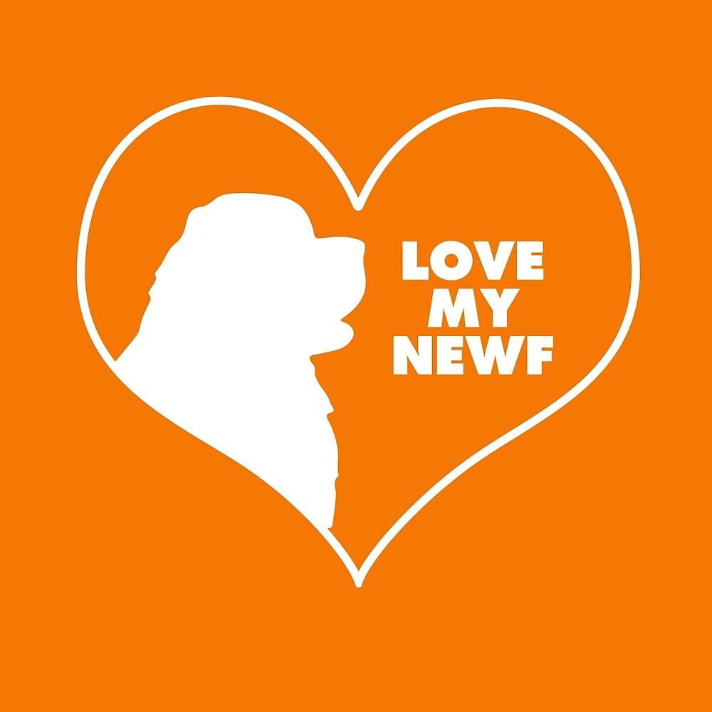 I Love my Newfie by Christine Mullis