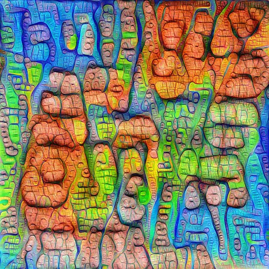 #Deepdreamed abstraction