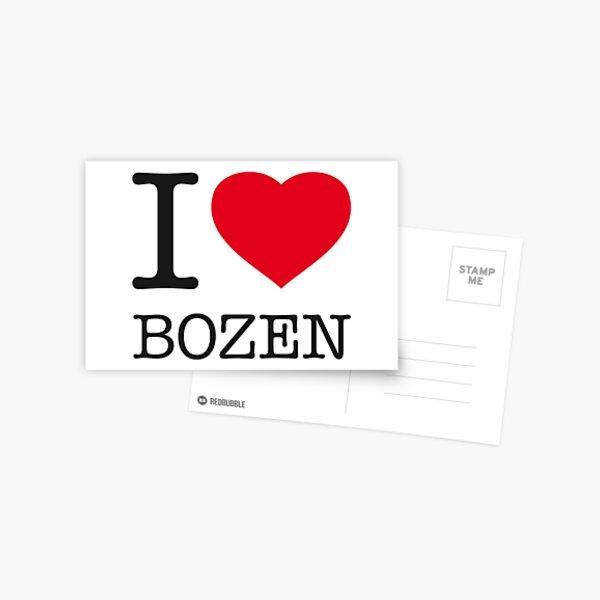 I LOVE BOZEN Postcard