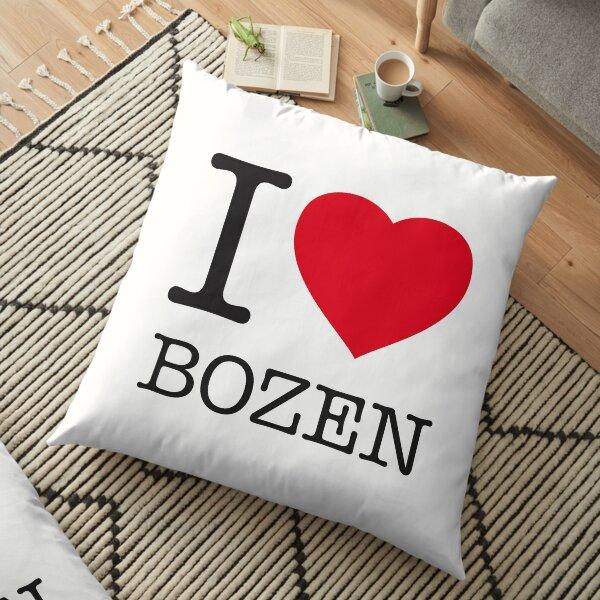 I LOVE BOZEN Floor Pillow