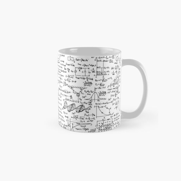 Physics Equations Classic Mug