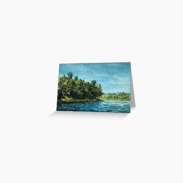 The MacDowell Reservoir Greeting Card