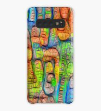 #Deepdreamed abstraction Case/Skin for Samsung Galaxy