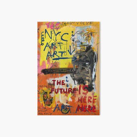 NYC Art Art Art Board Print