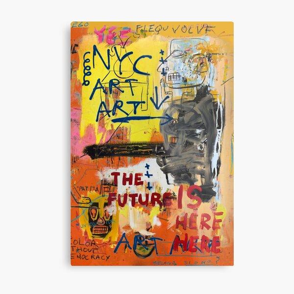 NYC Art Art Impression métallique