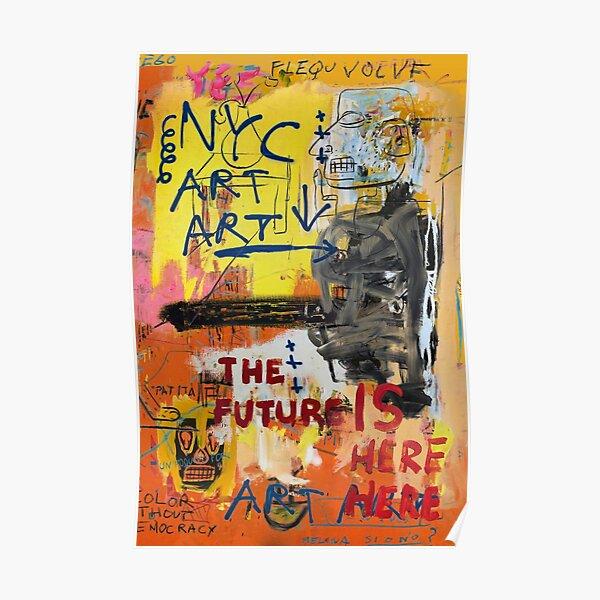 NYC Art Art Poster