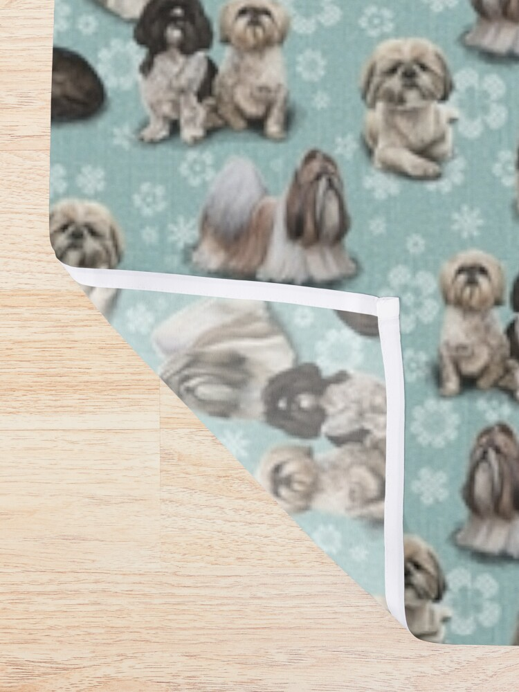 Alternate view of The Shih Tzu Shower Curtain