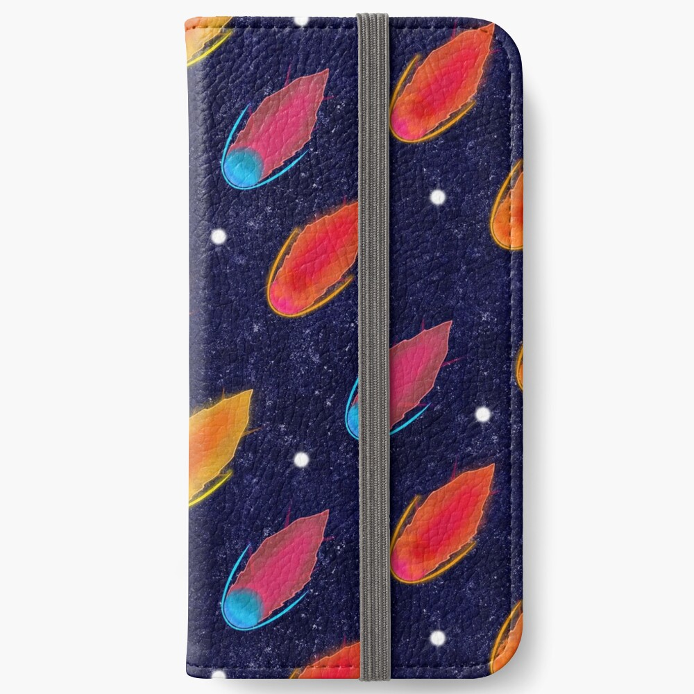Asteroid Galaxy iPhone Wallet
