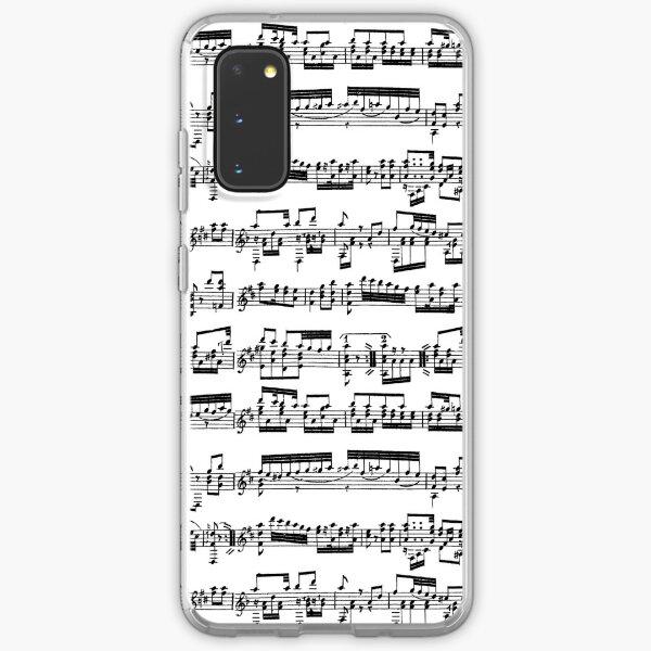 Sheet Music Samsung Galaxy Soft Case