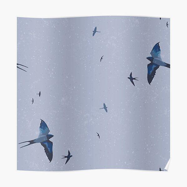 May Swallows VI Poster