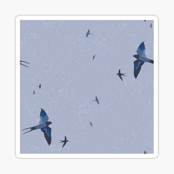 May Swallows VI Sticker