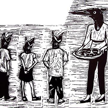 Feeding Time by BenedictMayer