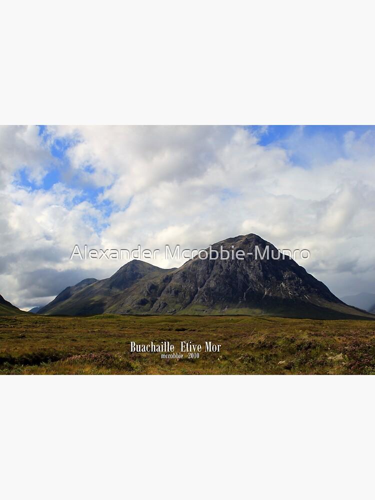 Buachaille  Etive  Mor by Alexanderargyll