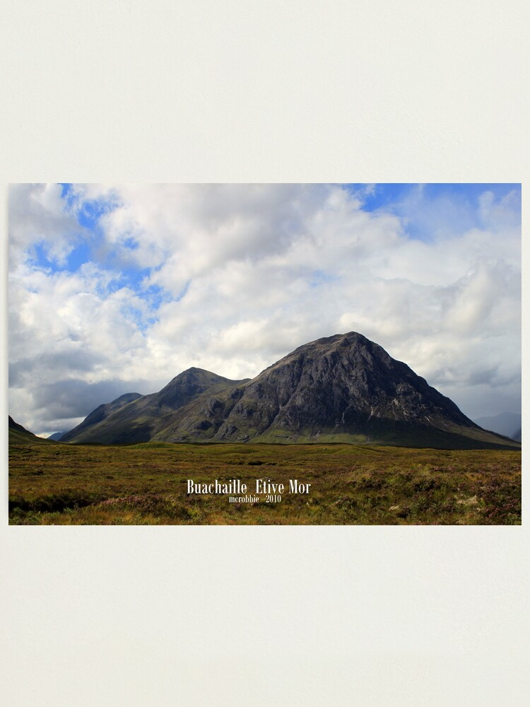 Alternate view of Buachaille  Etive  Mor Photographic Print