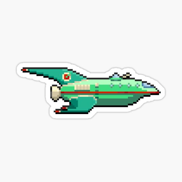 Space Delivery Ship Sticker