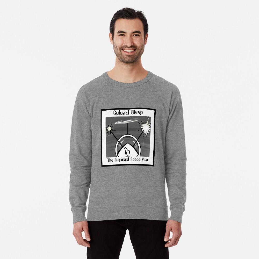 The Origional SPACEMAN Part 2 Colonel Bleep. Lightweight Sweatshirt