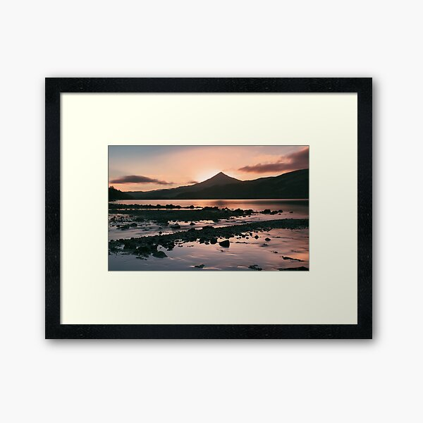 Pre-Dawn, Loch Rannoch Framed Art Print