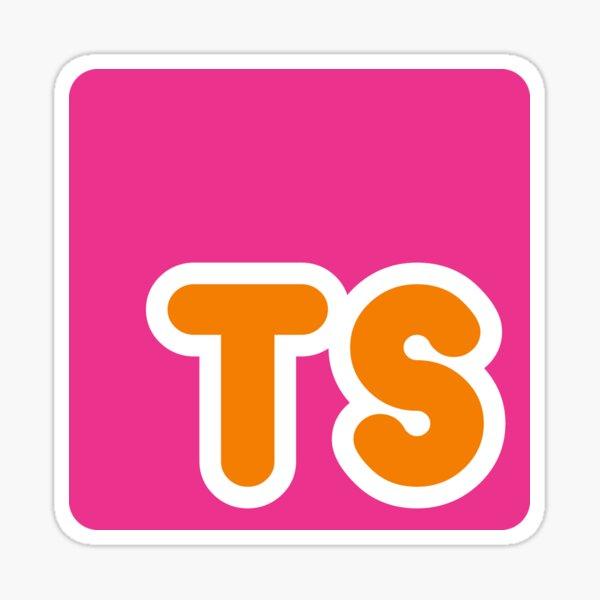 Dunkin' TypeScript Sticker