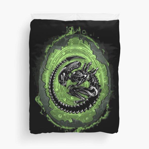 Alien Incubation Duvet Cover