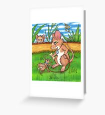 The Cricket Trainer - A Mouse's Pet Greeting Card