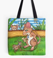 The Cricket Trainer - A Mouse's Pet Tote Bag