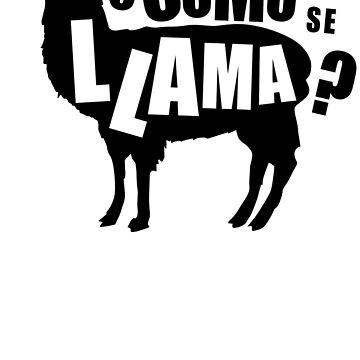 Como Se Llama  Funny Humor Hoodie / T-Shirt by maikel38