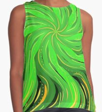 Palm Fronds Summer vibe Sleeveless Top