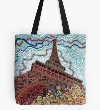 Paris, France, Las Vegas, Nevada, USA Tote Bag