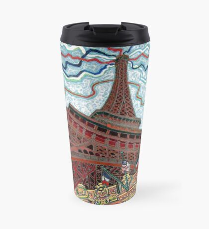 Paris, France, Las Vegas, Nevada, USA Travel Mug