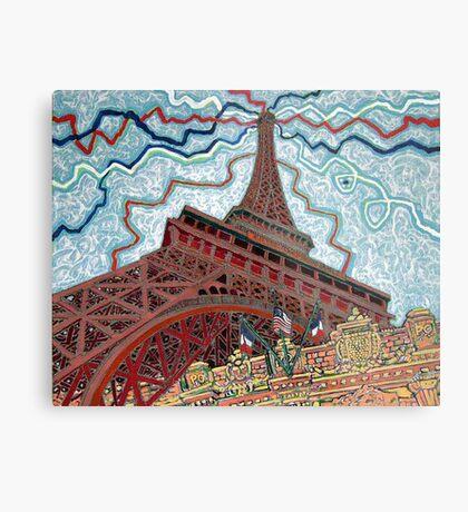Paris, France, Las Vegas, Nevada, USA Metal Print